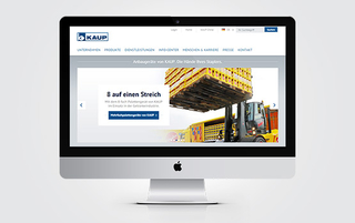 Mehrsprachige Business Website