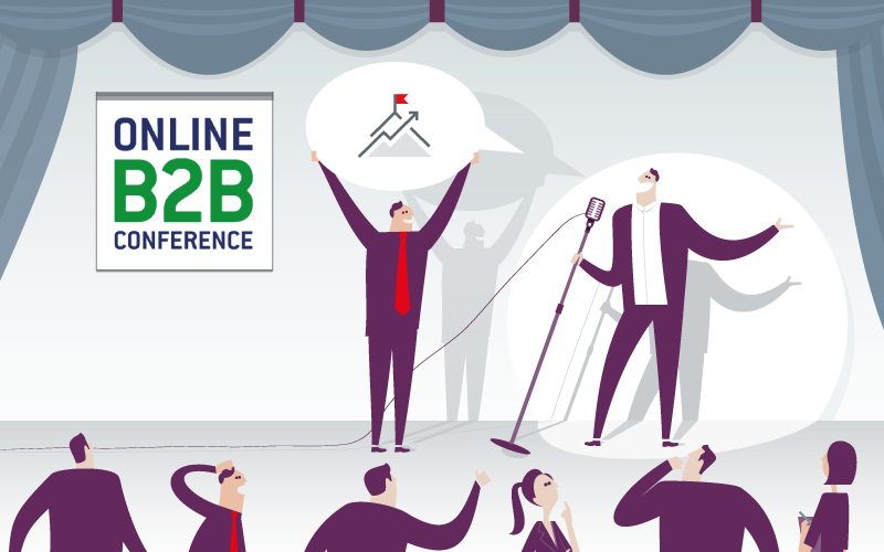 mellowmessage auf der Online B2B Conference